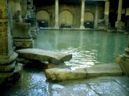 Roman Baths interior