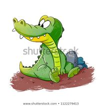 Cartoon-alligator-character-baby-funny-450w-1122279413
