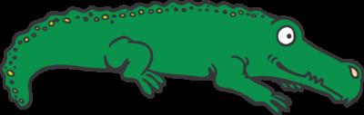 Cartoon Alligator1