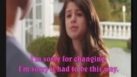 I won't apologize music video (Selena and Taylor) and lyrics - Selena Gomez and The Scene