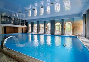 Large-Indoor-Swimming-Pool-Design-Gorgeous-Eclectic