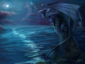 Water dragon by lumaris-d3c23ti