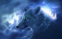 Spirit-Wolf-Blue-Background