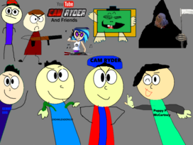 Youtube cam ryder and friends poster2