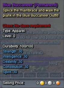 Blue Buccaneer Description