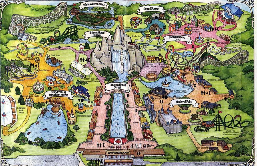 1988 Season Canada S Wonderland Wiki Fandom Powered By Wikia