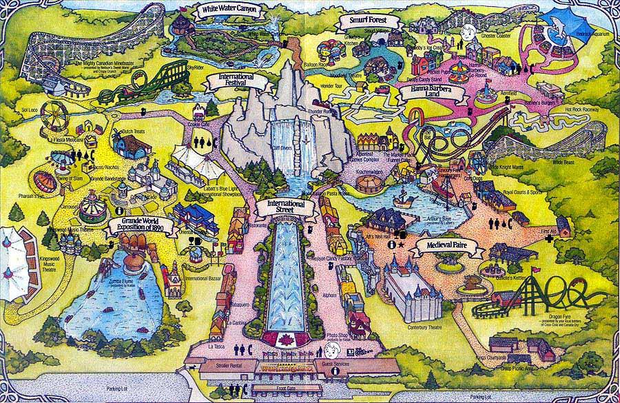 1987 Season Canada S Wonderland Wiki Fandom Powered By Wikia