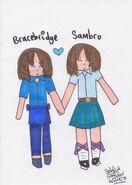 Bracebridge & Sambro Valentine's (Markers)