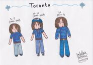 Toronto timeline (markers)