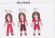 Montreal Timeline (Markers)
