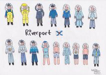 Riverport's Outfits (Markers)