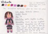 Victoria Bio Sheet