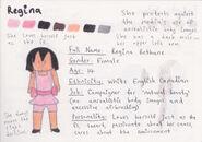 Regina Bio Sheet