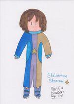 Stellarton Starman Marker Sketch