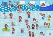 Nova Scotians at the Swimming Baths