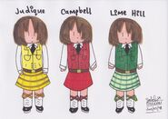 Judique, Campbell & Lime Hill Highland Dancers (Markers)