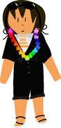 Jollimore rainbow lei vector