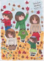 Nova Scotian Leaf and Conker Collectors
