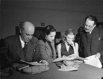 Radio. Dr. Morhanges. Fred Barry - Janine Sutto - Muriel Guilbault - George Alexander BAnQ P48S1P23172