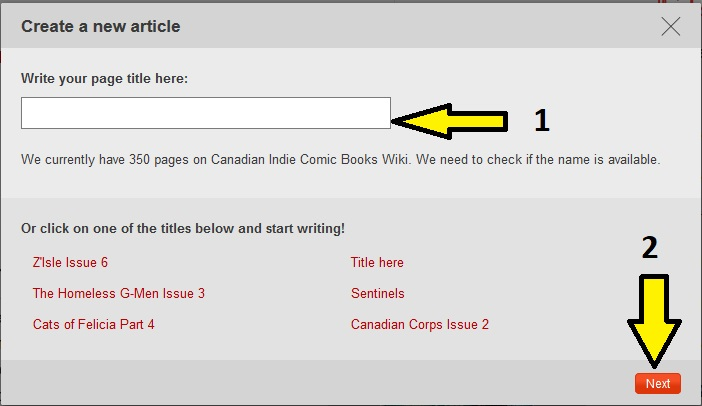 How to use templates to create pages canadian indie comic books then the page will be created and you will be redirected to the editing window once there you must switch to the source code editor to implement the maxwellsz
