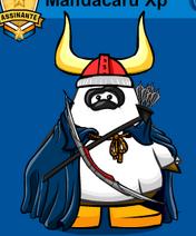 Panda Evils com arco e flecha