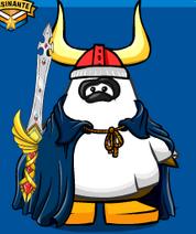 Panda Evils com espada