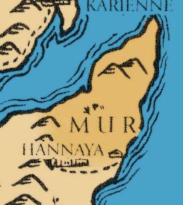 Karte Mur