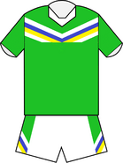 Canberra Raiders home jersey 2012