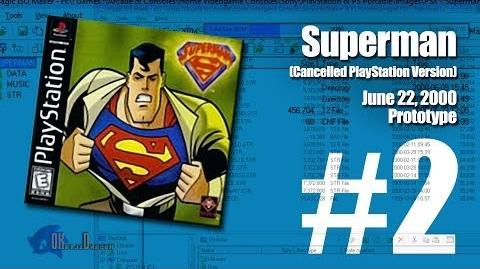 (Part 2) Superman Unreleased PlayStation version June 22, 2000 Prototype
