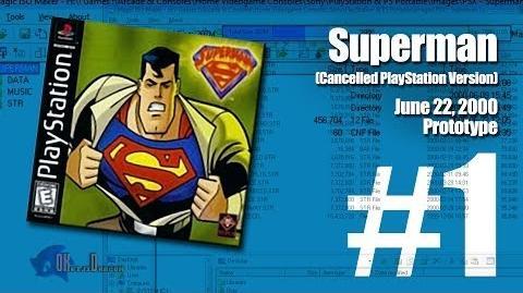 (Part 1) Superman Unreleased PlayStation version June 22, 2000 Prototype