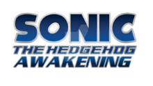 Sonic the hedgehog awakening fan made logo by thereturningshadow-d9ifg4p