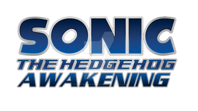 File:Sonic the hedgehog awakening fan made logo by thereturningshadow-d9ifg4p.png