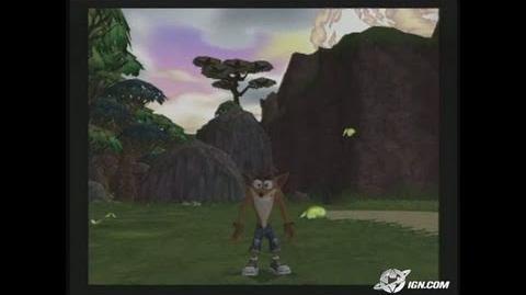 Crash Twinsanity GameCube Gameplay
