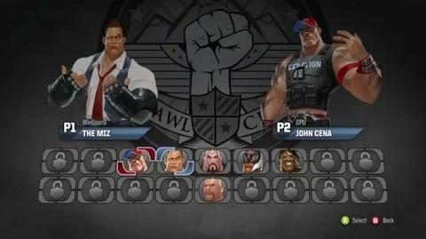 Cancelled WWE Brawl video gameplay Stone Cold Steve Austin vs The Miz