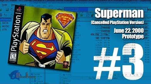 (Part 3) Superman Unreleased PlayStation version June 22, 2000 Prototype