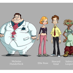 Characters from the movie