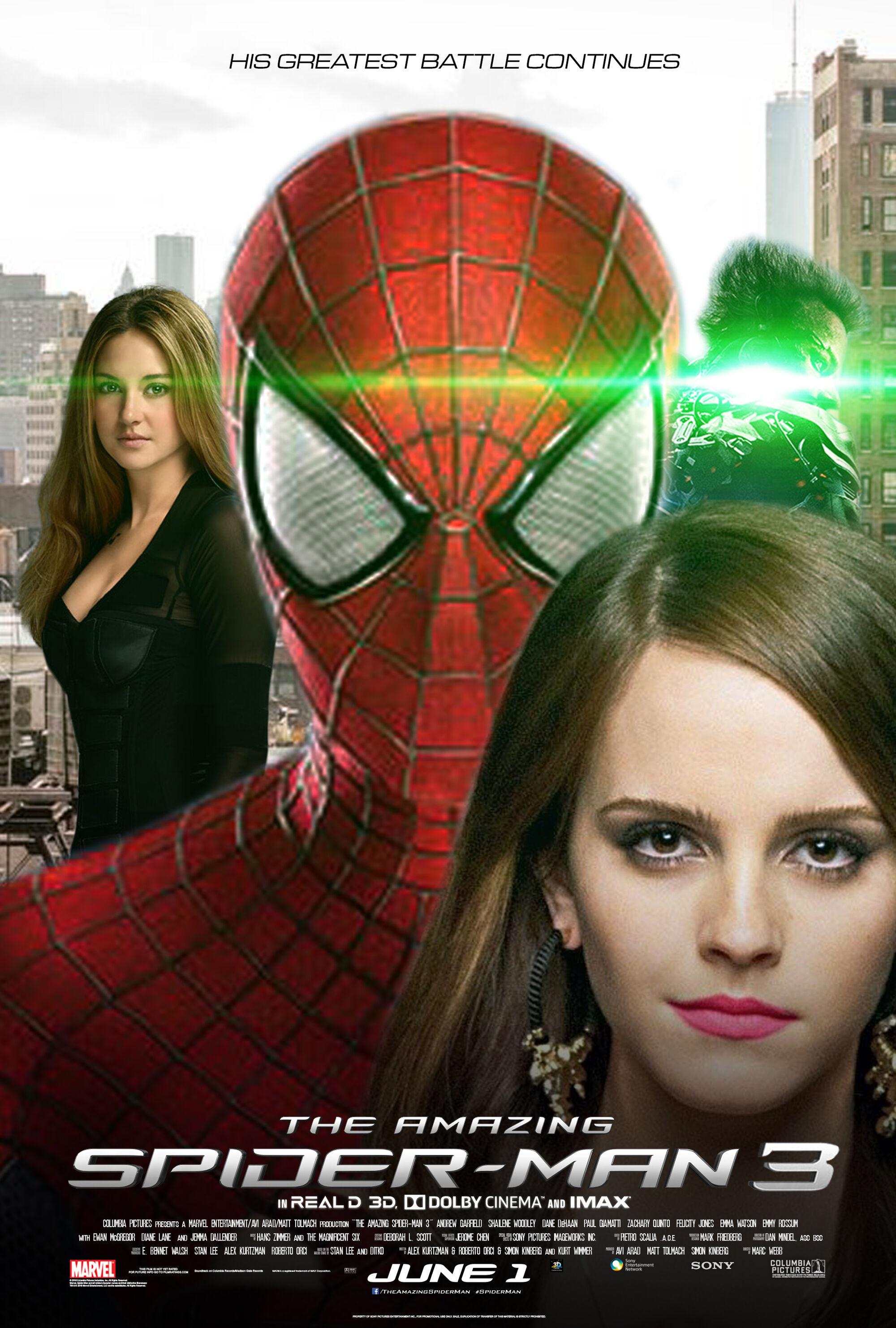 The Amazing Spider-Man 3   Cancelled Movies  Wiki   FANDOM