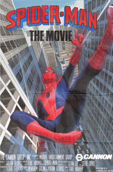 Spider-Man Cannon poster