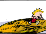 Calvin in Quarter-Inch Form
