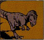 Allosaurus Brontosaurus
