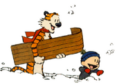 Calvin And Hobbes-Snow Day
