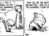 Calvin's snowmen