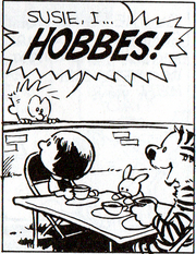 Susie and Hobbes