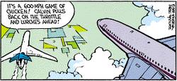 Calvin the Airline Pilot 2