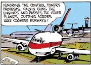 Calvin the Airline Pilot 3