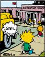 Calvin's school