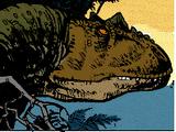 Calvin the Allosaur