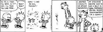 C&H Calvin's Good Side Turns Bad