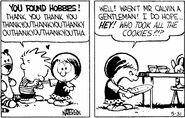 Calvin's kissing Susie!