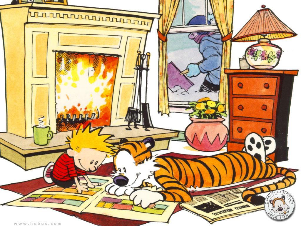 Image - Calvin\'s House.jpg | The Calvin and Hobbes Wiki | FANDOM ...